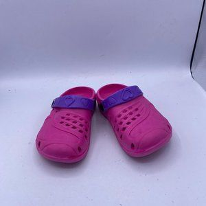 girls pink Hole non-slip Water Shoes